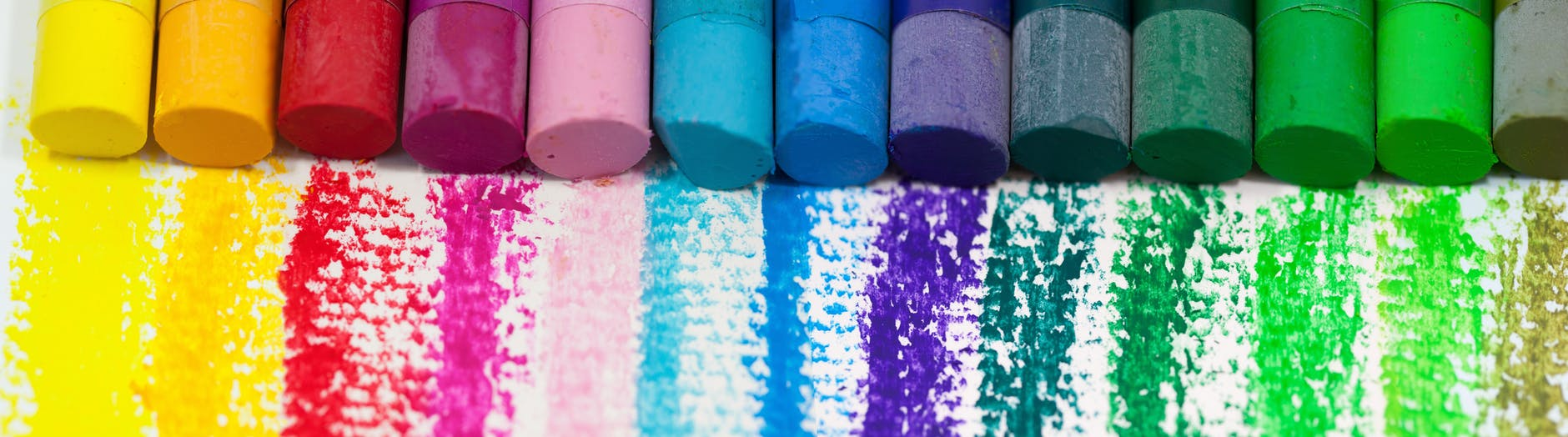 Glada färger på designen