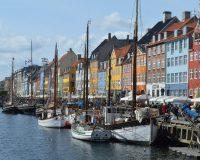 Starka färger i Köpenhamn