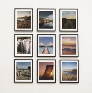 Skapa en fotovägg med posters